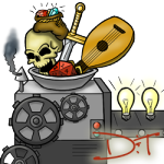 Logo for Dungeons 'n Taverns